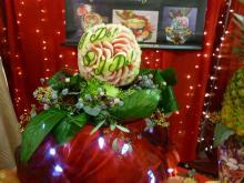 wedding watermelon centrepiece