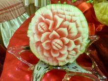 Watermelon centrepiece