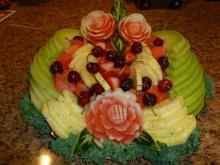 Party fruit platter