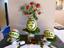 Toronto Bridal Show Edible Fruit Arrangement