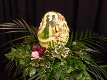 wedding display centrepiece